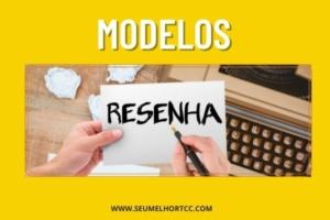 modelos de resenhas